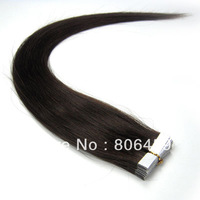 "22""  40pcs remy  tape in hair extension,100g / pack,2# in stock now!"