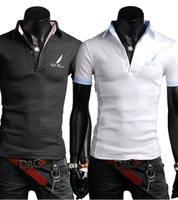 Wholesale fashion basic cheap cotton custom mens Polo t shirt
