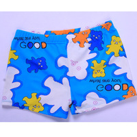 2012 child swimwear male child swimming pants bear swim trunks 1270