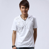 Free shipping Best selling men t-shirt summer casual short-sleeved Wear ,men shirt ,M L XL  in stock