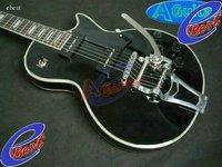 custom black guitar bigsby black P 90 pickup Electric guitar 2011