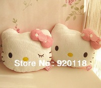 Free Shipping hello kitty pillow cushion pillow cushion for car Back Cushion,,kitty car decoration living stones pillow