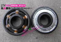 8 wheels Bsb ceramic roller bearing roller ceramic bearing bined bearing 6 beads white pottery bearing 608 ceramic