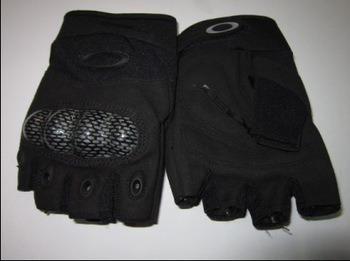 O,K cycling gloves Half finger gloves / Military army police Safety Gloves