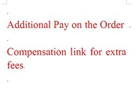 I know It is not obligatory to pay this compensation link but can you sympathize   me otherwise I will sell at a loss