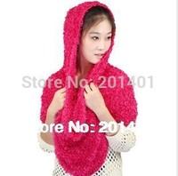 Magic Scarf 100% Nylon Factory Price/Microfiber Magic Scarf/Fashion Scarf 2pcs/lot