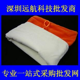 10 tablet double faced plush cloth bag