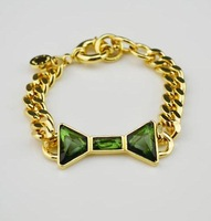Free Shipping  Bowknot  Rhinestone Encrusted Bracelet For Womans Wholesale