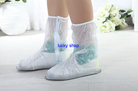 2013 Rain Shoe Covers with Durable PVC Material for Travel Free shipping