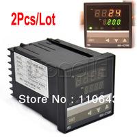 2Pcs/Lot  Digital PID Digital Temperature Control Controller REX-C700  TK0455
