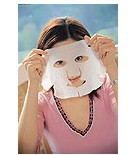 Wholesale compressed facial mask paper