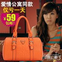 Messenger bag female 2013 candy color bags big bag small fresh women&#39;s handbag new arrival