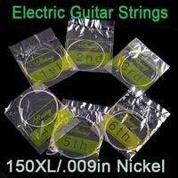 6pcs/set 10 sets 60pcs 150XL/.009in Electric Guitar Amp Strings Set I60 Free shipping Wholesale
