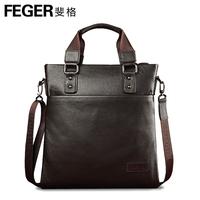 Feger 2013 genuine leather man bag commercial cowhide cross-body handbag backpack