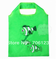Nylon cartoon tropical fish Nemo Foldable Reusable bag Eco-Friendly Shopping Bags Tote Bags 50pcs