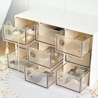 Home fashion brief drawer storage box jewelry box jewelry box