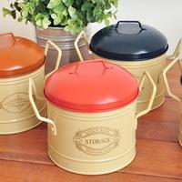Derlook vintage jesse mini pot tin storage tin storage box