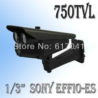 "fast shipping CCTV 750TVL Sony CCD effio-es Outdoor Security camera 4mm lens 1/3"" CCD camera Surveillance camera System FL04K"