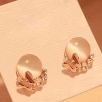 0090 accessories elegant  butterfly cuicanduomu - eye stud earring earrings
