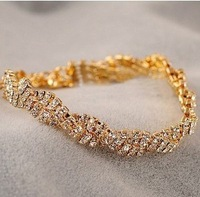 2083 accessories fashion noble and exquisite full rhinestone bling all-match bracelet 2013 female 10g
