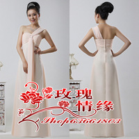 Maternity High Waist Wedding Formal Dress Long Design Bridal Evening Dress 2013