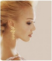 Fashion fashion 0040 oil elegant stud earring