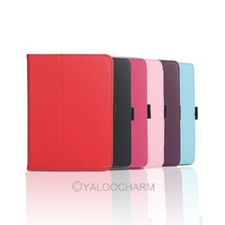 "New HOT PU Leather Book Stand Folio Case Cover For Fit Amazon Kindle Fire HD 7"" Tablet 81021 -81027(China (Mainland))"