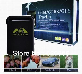 Mini GPS Tracker TK102 Pet Tracker with Memory Slot portable gps tracker with Sleep Function free shipping