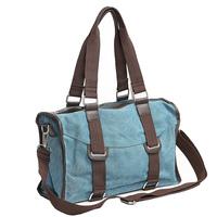 Rangel canvas bag 2013 women's handbag vintage women's handbag messenger bag big bag brands genuine leather