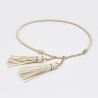 Belly chain female 2013 7 candy color tassel belly chain women's all-match thin belt fashion accessories