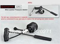 Free shipping Sunwayman AP01 Remote Pressure Switch T40CS T20CS M20C V20C Flashlight