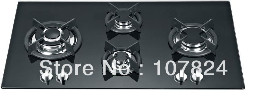 90CM Built-in gas hob Tempered glass(China (Mainland))
