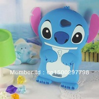 Lovely Fashion 3D Stitch Silicone Soft Cover Case for HTC One X