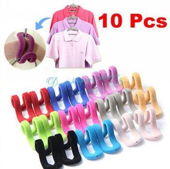 10Pcs/Set Magic Mini Travel Flocking Multifunction Pile Coating Colors Hook Hanging  Drop shipping/Free Shipping