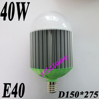 2 year warranty Free shipping AC85-265V E40 40W LED Bulb,40*1w led lamp,