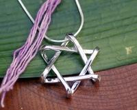 Silver jewelry crafts accessories dh026 david pendant 925 pure silver jewelry