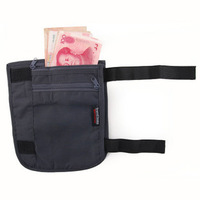For tr avelicons personal wallet anti-theft credential pocket document package wallet leg bag 50g