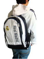 New Real Madrid polyester fiberic football  fansshoulder bags,soccer backpack sport bags,free shipping,10ps