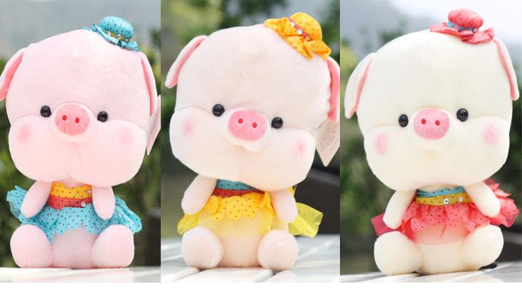Free Shipping Plush toy birthday gift ladyfly dudu pig doll valentine day gift(China (Mainland))