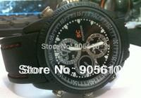 mini camcorders Waterproof HD  video 1280x720&photo 3264*2448 built in 8GB hidden camera watch camera Dvr wrist watch