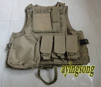 NEW, Tactical vest /US Molle Combat Strike Plate Carrier Vest,sand