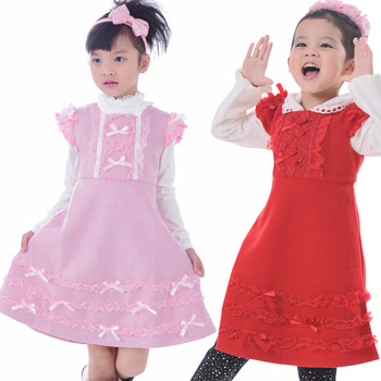 2013 new arrival free shipping summer dress solid color baptism gowns for girls alibaba express retail