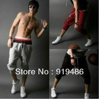 Free shipping Fashion Men's Sports pants five size Men's Baggy pants-K001