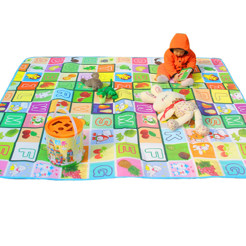 Baby crawling mat baby climb a pad child play mat double faced creepiness blanket thickening gadders area(China (Mainland))