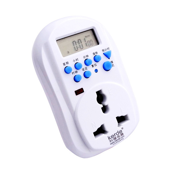Kede timer tw-269 electronic countdown timer socket timer switch timep(China (Mainland))