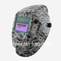 2013 promotion protect your eyes Solar  Auto Darkening Welding/grinding mask/welding helmet for ARC TIG  MIG  welding machine