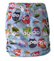 High Quality Washable Reusable Printed baby cloth Nappies One size All in two +1pcs Microfiber Insert(China (Mainland))