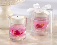 wedding decoration candle cup candle the wedding decoration orchid jelly candle free shipping