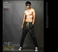 NEW Men Korean Style 2013 Fashion Harem Baggy Sport Sweat Pants Athletic Sport Hip Hop Dance Trousers Slacks Joggers SweatPants