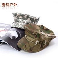 Outdoor male and female octagonal cap sun Camo  cap for fishing camping hiking various color size S-XL freeshipping